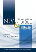 NIV MESSAGE PARALLEL BIBLE HB
