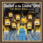 DANIEL IN THE LIONS DEN BRICK BIBLE