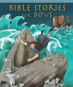 CHILDRENS BIBLE STORIES FOR BOYS HB
