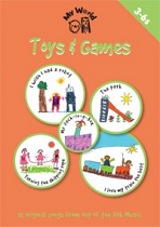 TOYS AND GAMES BOOK + CD