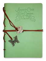 NEW CREATION JOURNAL WITH WRAP AND BOOKMARK