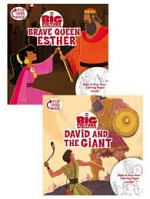 BRAVE QUEEN ESTHER & DAVID AND THE GIANT
