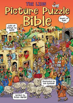 THE LION PICTURE PUZZLE BIBLE