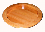 BREAD PLATE 9 X 1 NATURAL